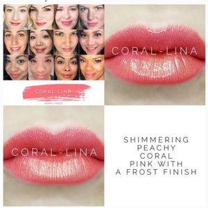 LipSense Coral-Lina Brand New/Sealed